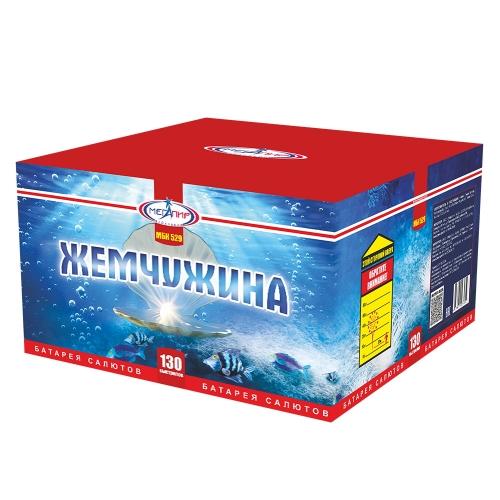 Батарея салютов Мегапир Жемчужина МБК529